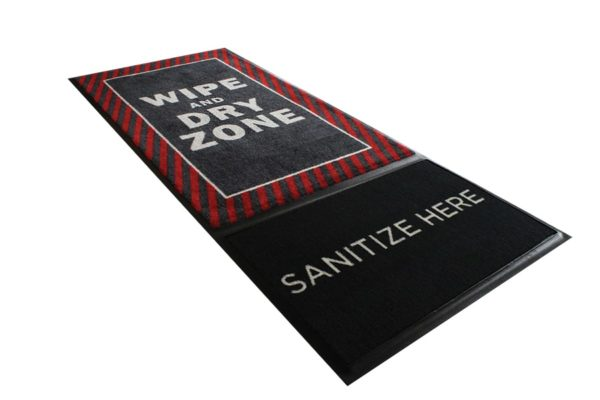 StepWell Isolated Whole Mat Red Striped Website